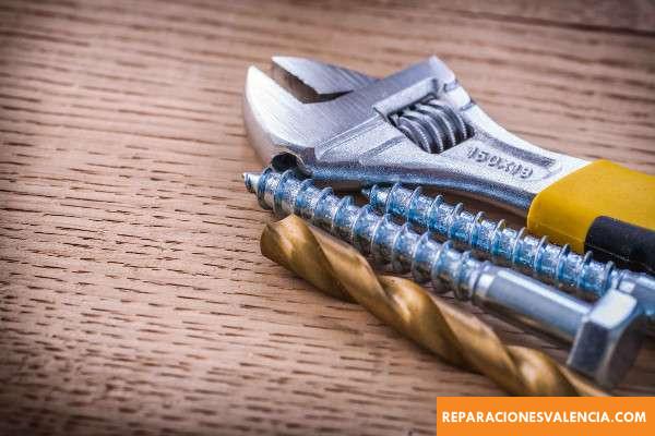 herramientas para reparaciones del hogar
